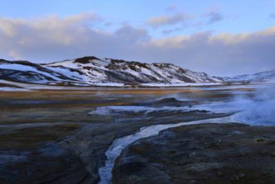 Panorama Image of Thermal Features in Hverir Area by Raul Touzon