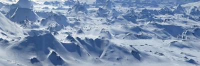 Panorama view from Hekla volcano's cone. by Raul Touzon
