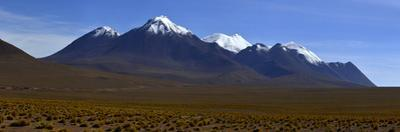 Panorama views of Eduardo Avaroa National Reserve in Bolivia. by Raul Touzon