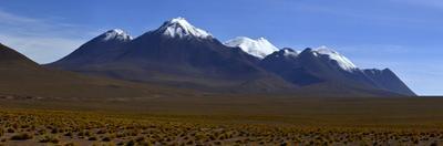 Panorama views of Eduardo Avaroa National Reserve in Bolivia. by Raul Touzon