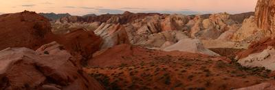 Rock Formations in Valley of Fire State Park by Raul Touzon