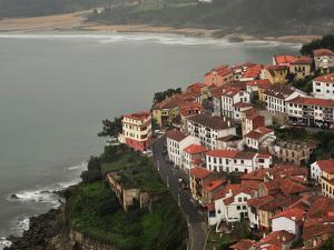 The City of Lastres on the Atlantic Coast by Raul Touzon