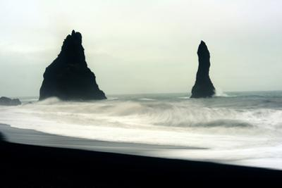 The Mysterious Black Reynisfjara Beach on the South Coast of Iceland by Raul Touzon