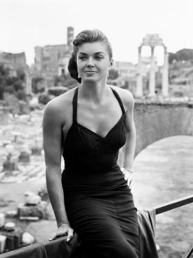 Raw Wind in Eden, Esther Williams, on Location in Rome, 1958