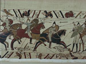 Bayeux Tapestry, Bayeux, Normandy, France by Rawlings Walter