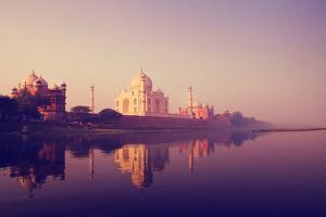 Taj Mahal India Seven Wonders Concept by Rawpixel