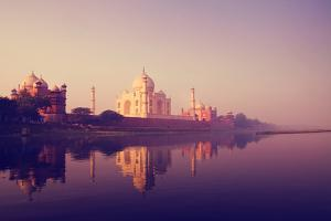 Taj Mahal India Seven Wonders Concept by Rawpixel