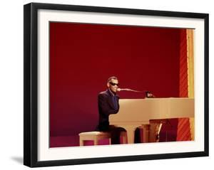 Ray Charles at White Piano