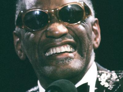 Ray Charles Close Up