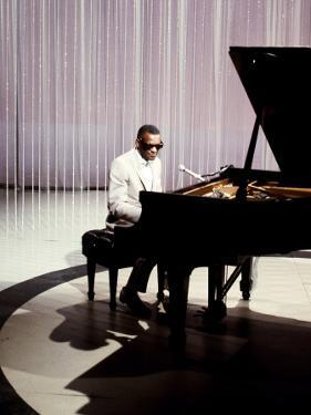 Ray Charles Filming for NBC