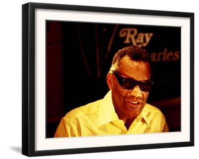 Ray Charles Filming for the BBC