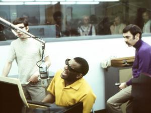 Ray Charles in the Recording Studio