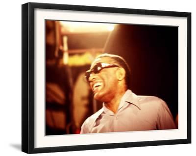 Ray Charles Laughing