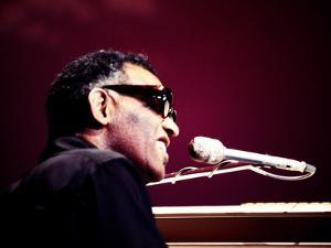 Ray Charles on the Johnny Cash Special, 1979