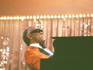 Ray Charles Performing