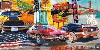 Muscle Cars by Ray Foster