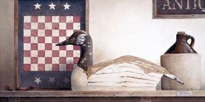 Checkers and Slats by Ray Hendershot