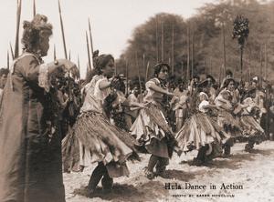 Hawaiian Hula Dance in Action by Ray Jerome Baker