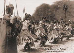 Hawaiian Hula Dance in Action by Ray Jerome Baker