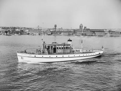 The Governor Elisha P. Ferry Sailing in Puget Sound