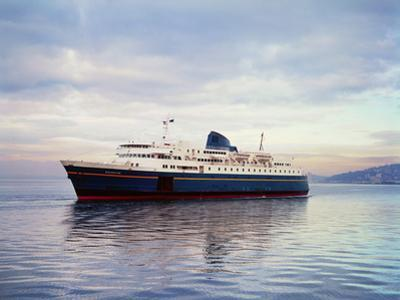 The Malaspina is an Alaskan Ferry by Ray Krantz