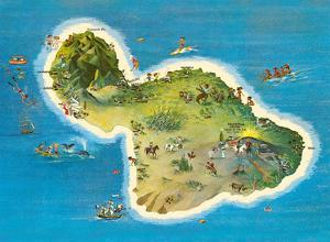 The Island of Maui Hawaii by Ray Lanterman