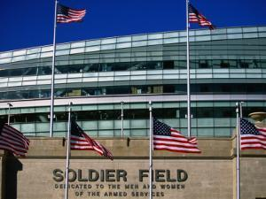 Soldier Field, Chicago, Illinois by Ray Laskowitz