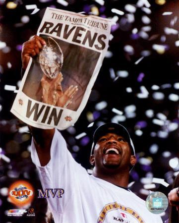 Ray Lewis Super Bowl XXXV MVP