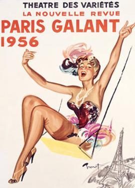Paris Gallant by Raymond Brenot