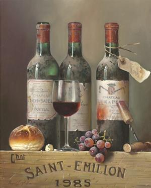Saint Emillion 1985 by Raymond Campbell