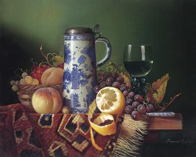 Still Life with Fruit II by Raymond Campbell