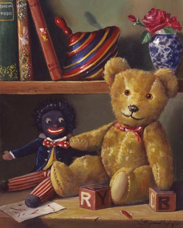 Ted and Friends I by Raymond Campbell