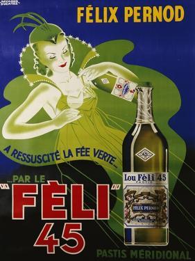 Feli 45, circa 1930 by Raymond Ducatez