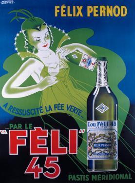 Pernod Felix 45 by Raymond Ducatez