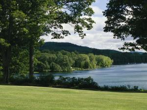 A Scenic View of Otsego Lake Near Cooperstown, New York by Raymond Gehman