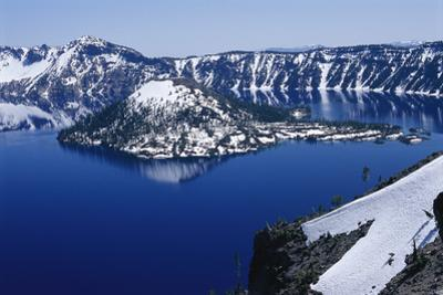 Crater Lake National Park, Oregon by Raymond Gehman
