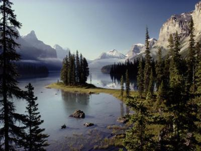 Maligne Lake, Which is the Largest and Deepest Lake in Jasper National Park