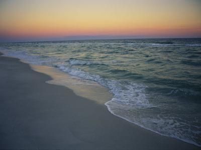 Twilight on a Peaceful Ocean Beach by Raymond Gehman