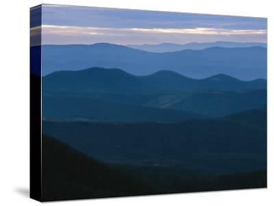Twilight View of the Blue Ridge Mountains by Raymond Gehman