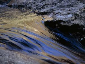 Water Rushing over Stones in the Whitewater River by Raymond Gehman