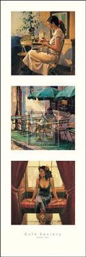 Cafe Society II by Raymond Leech