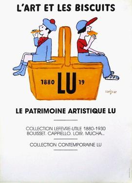 L'art et les biscuits by Raymond Savignac