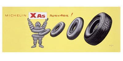 Michelin XAS Nouveau by Raymond Savignac