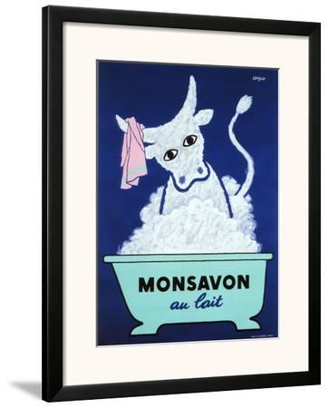 Monsavon Au Lait Poster