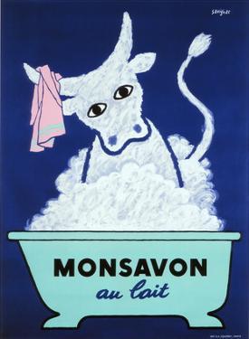 Monsavon au Lait by Raymond Savignac