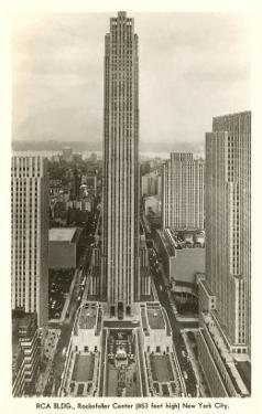 RCA Building, Rockefeller Center, New York City