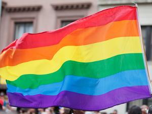 Rainbow Flag by RDStockPhotos