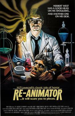 Re-Animator - Movie Poster Reproduction
