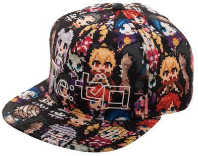 Re:Zero - Sublimated Print Snapback with HD Print Logo