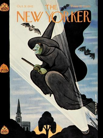 New Yorker Cover - October 31, 1942